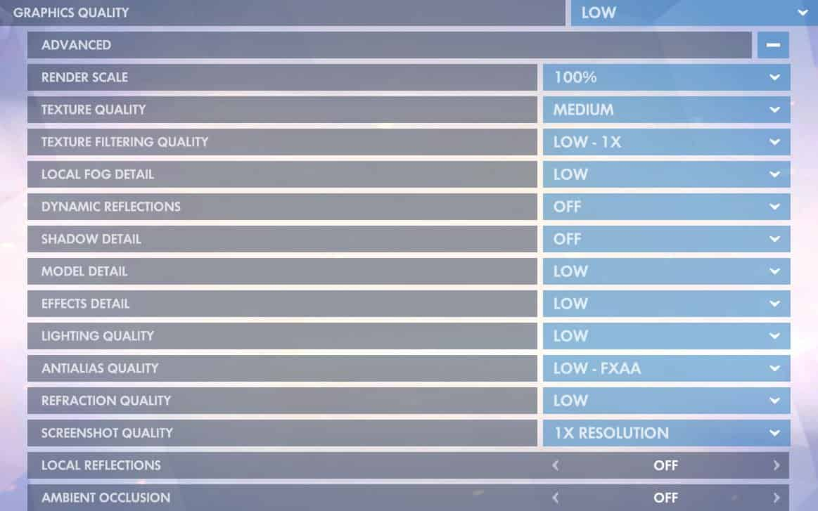 Overwatch Best Settings & Options Guide | ProSettings net