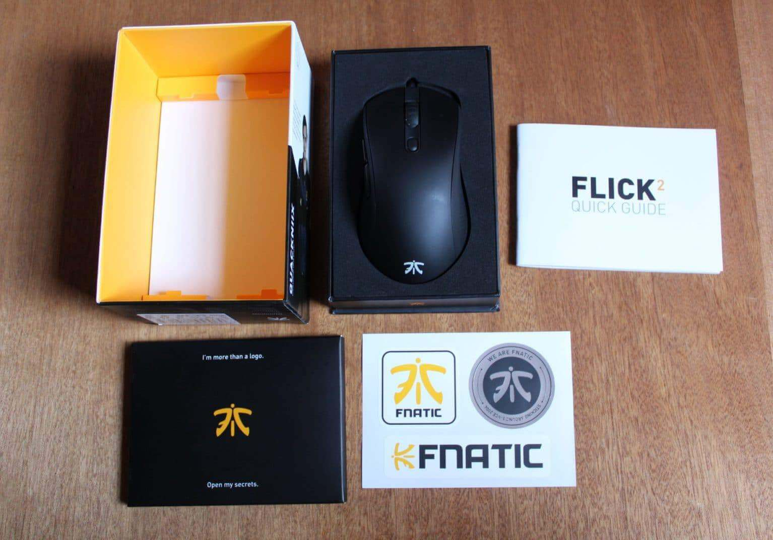 Fnatic Flick 2 Review Packaging