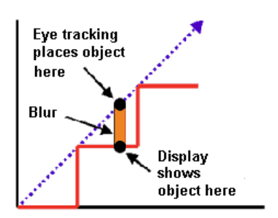 Eye Tracking Motion Blur