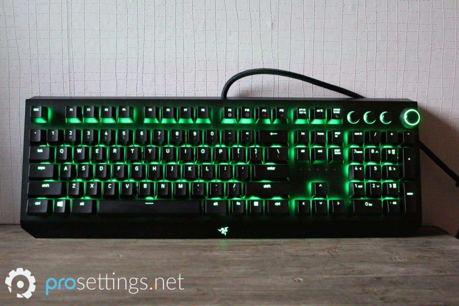 Razer Blackwidow Elite Keyboard Review