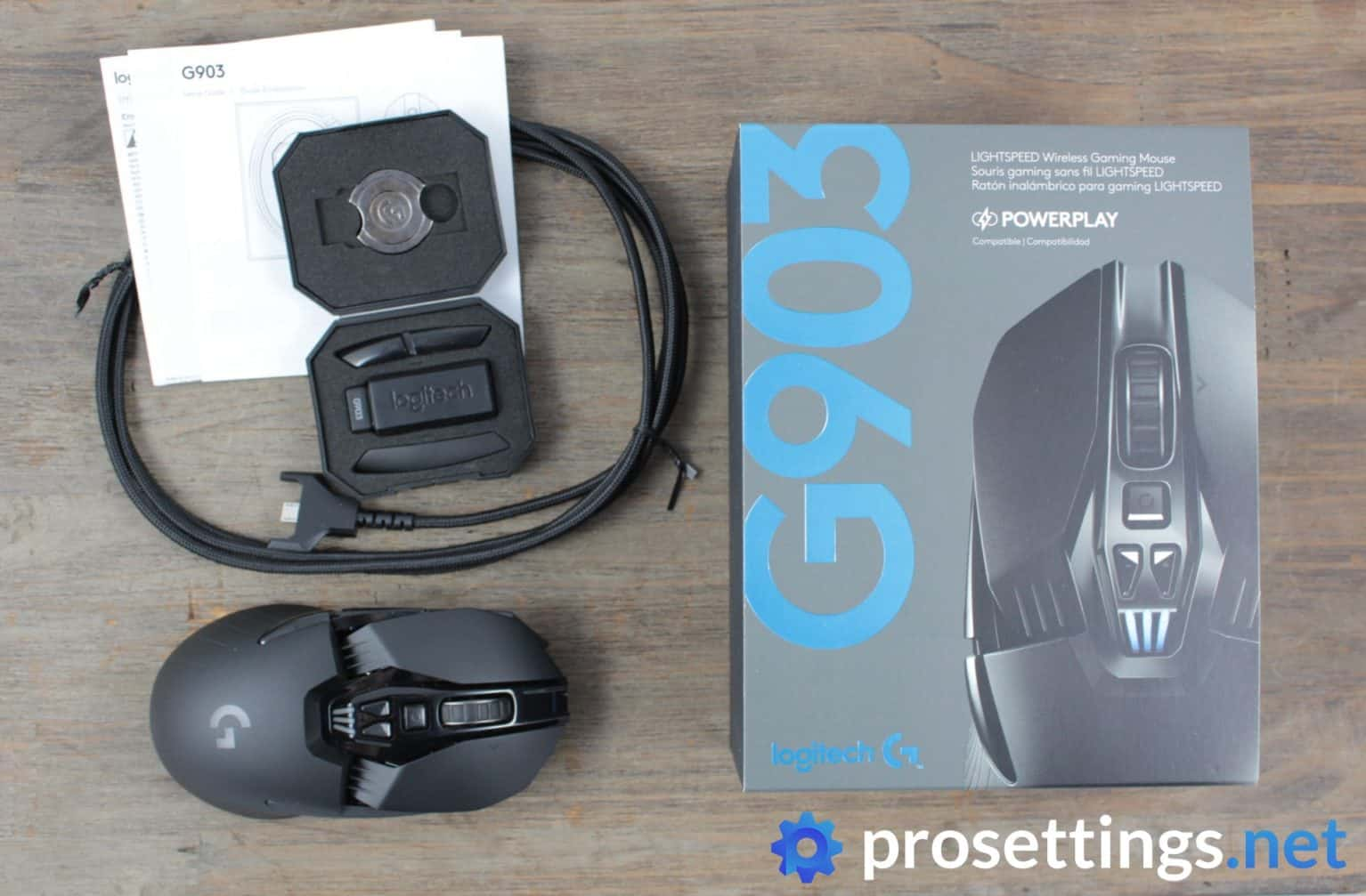 Logitech G903 Review Packaging