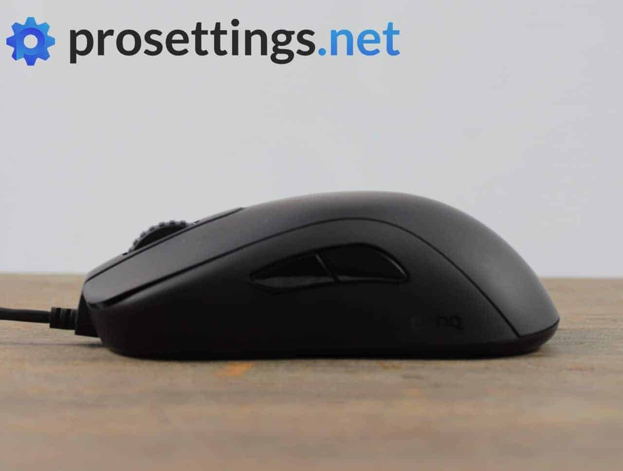 Zowie S2 Review Mouse Buttons and Scroll Wheel
