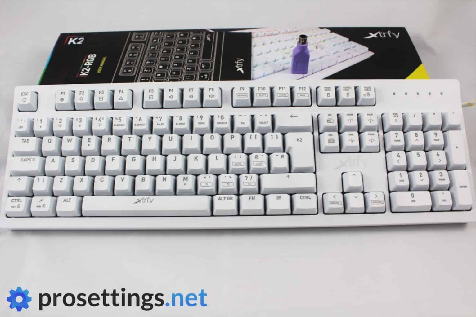 Xtrfy K2 RGB Keyboard Review Packaging