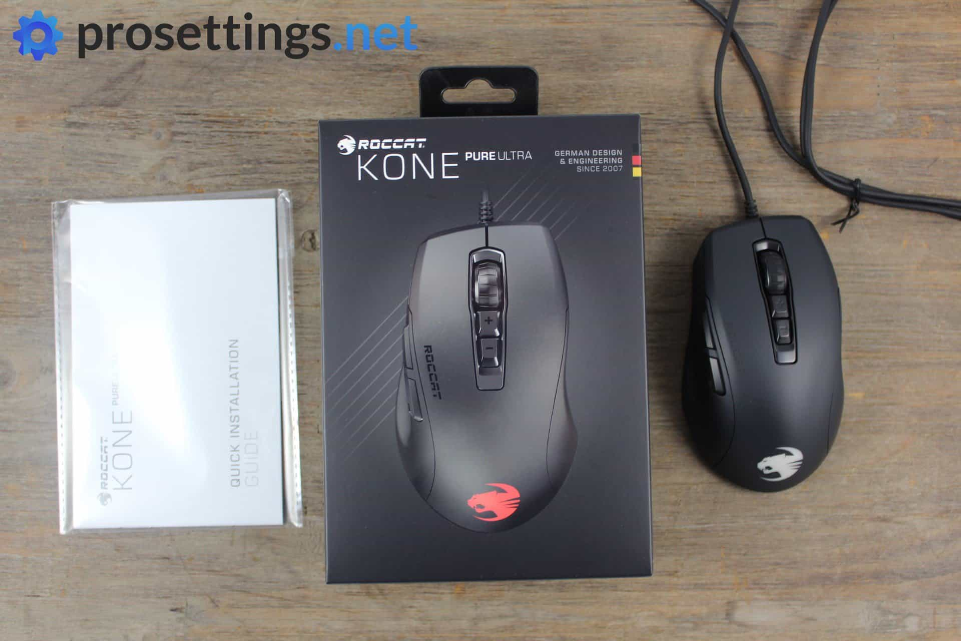 Roccat Kone Pure Ultra Review Mouse Packaging