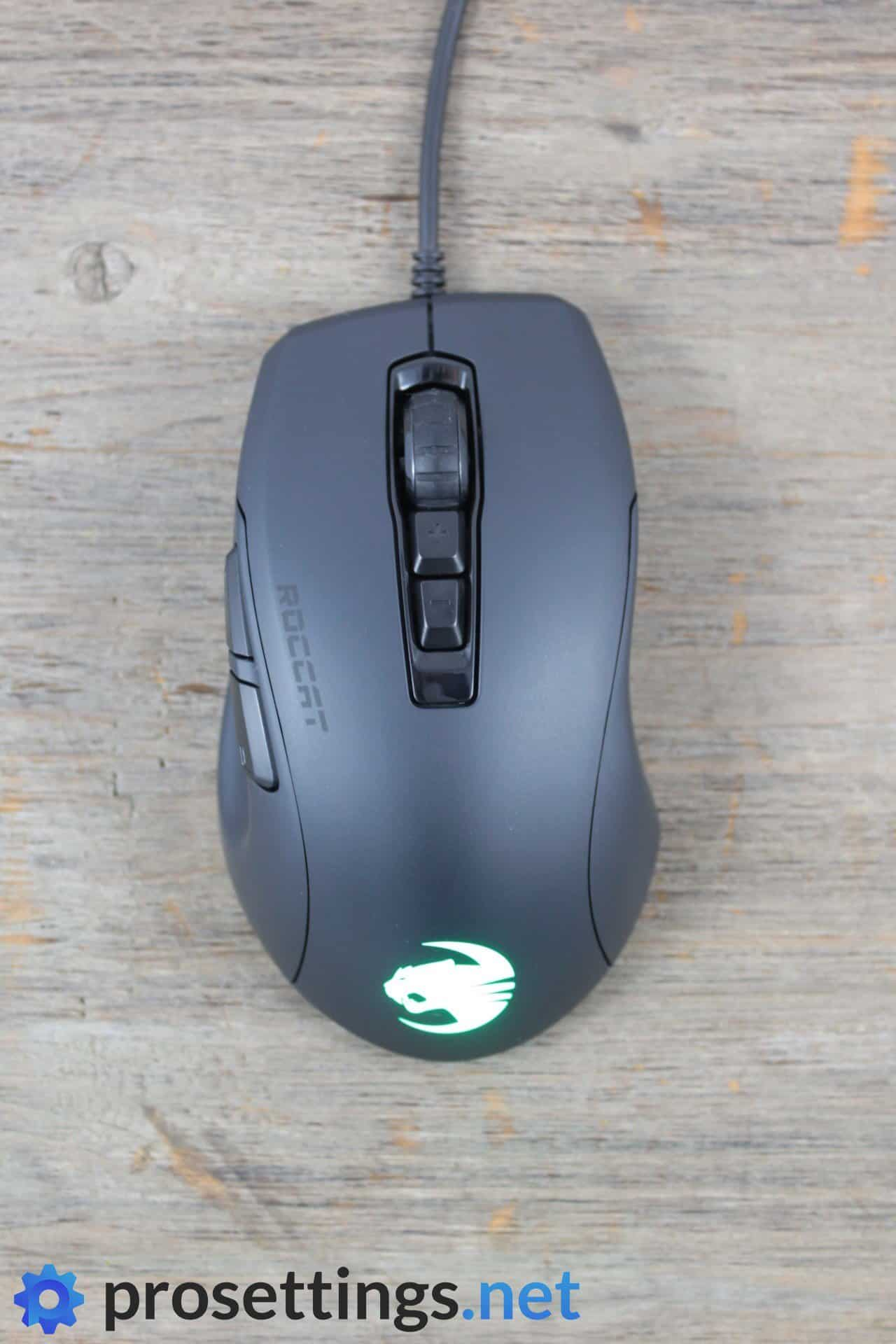 Roccat Kone Pure Ultra Review Mouse Top