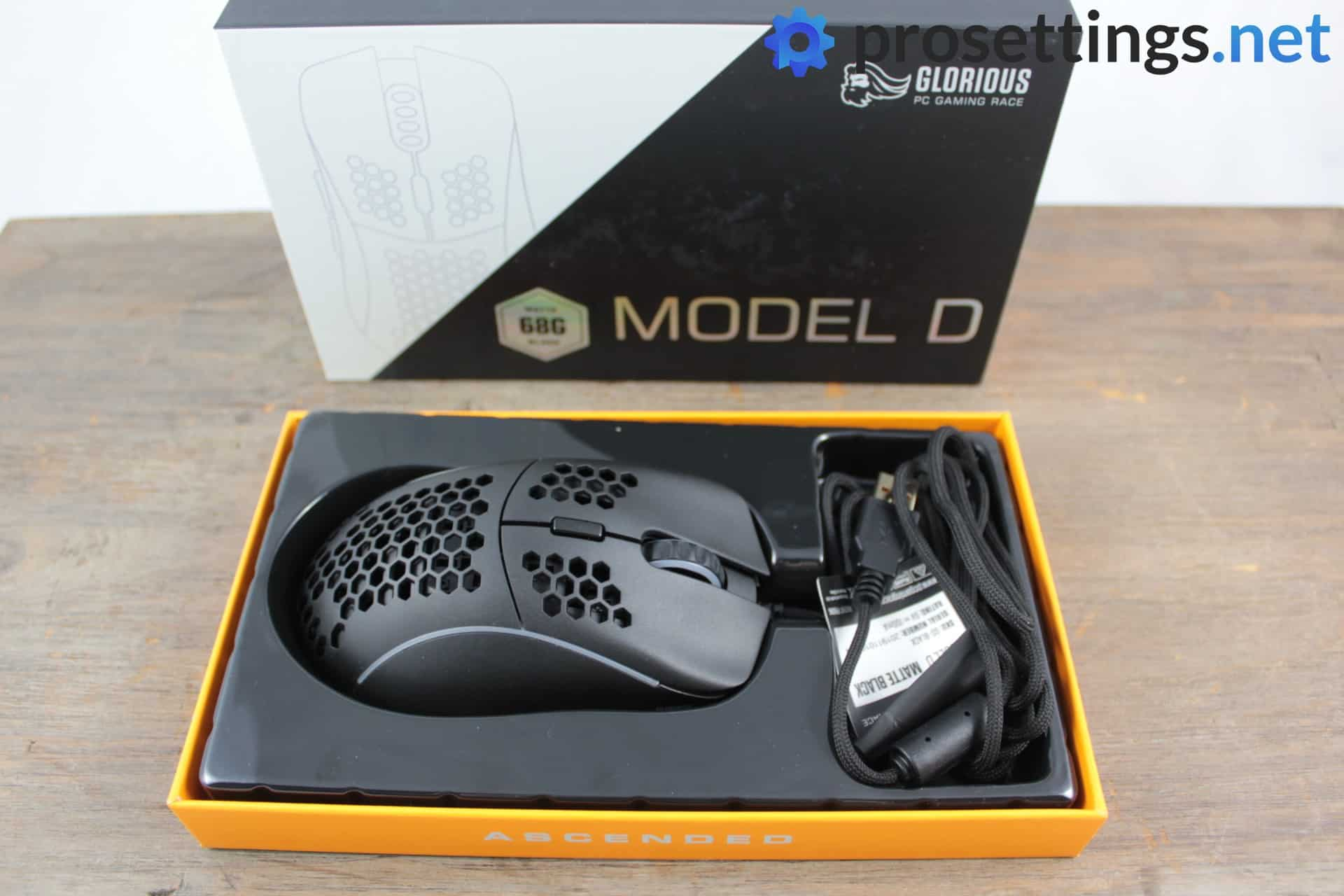 Glorious Model D Mouse Review Packaging 2