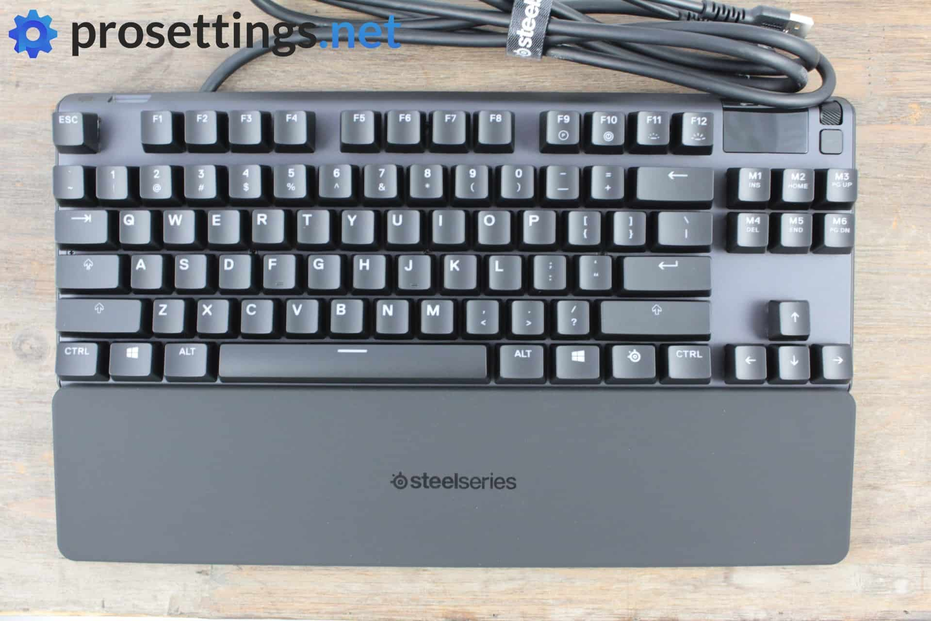 SteelSeries Apex Pro TKL Keyboard Review Packaging