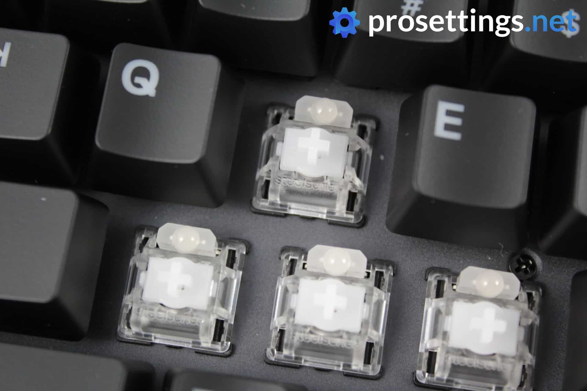 SteelSeries Apex Pro TKL Review Keyboard Switches