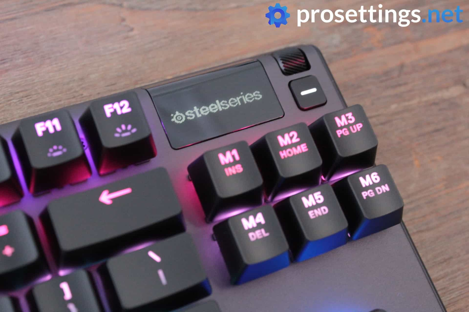 SteelSeries Apex Pro TKL Review Keyboard