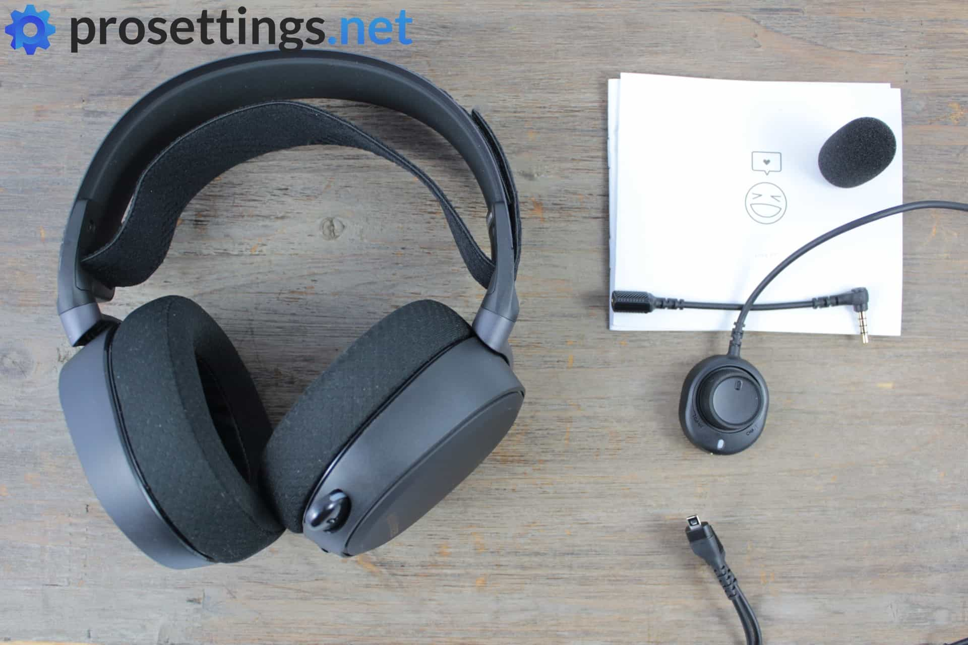 SteelSeries Arctis Pro Review Packaging