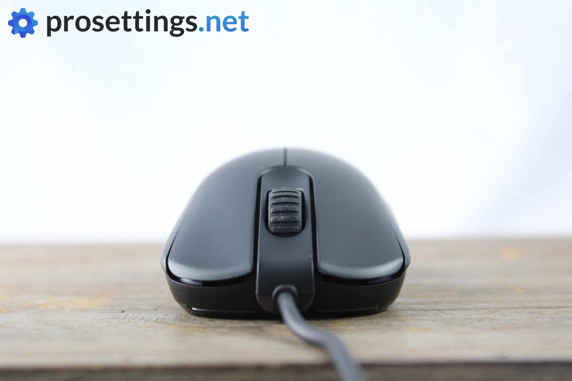 Zowie ZA13-B Review Mouse Frontview