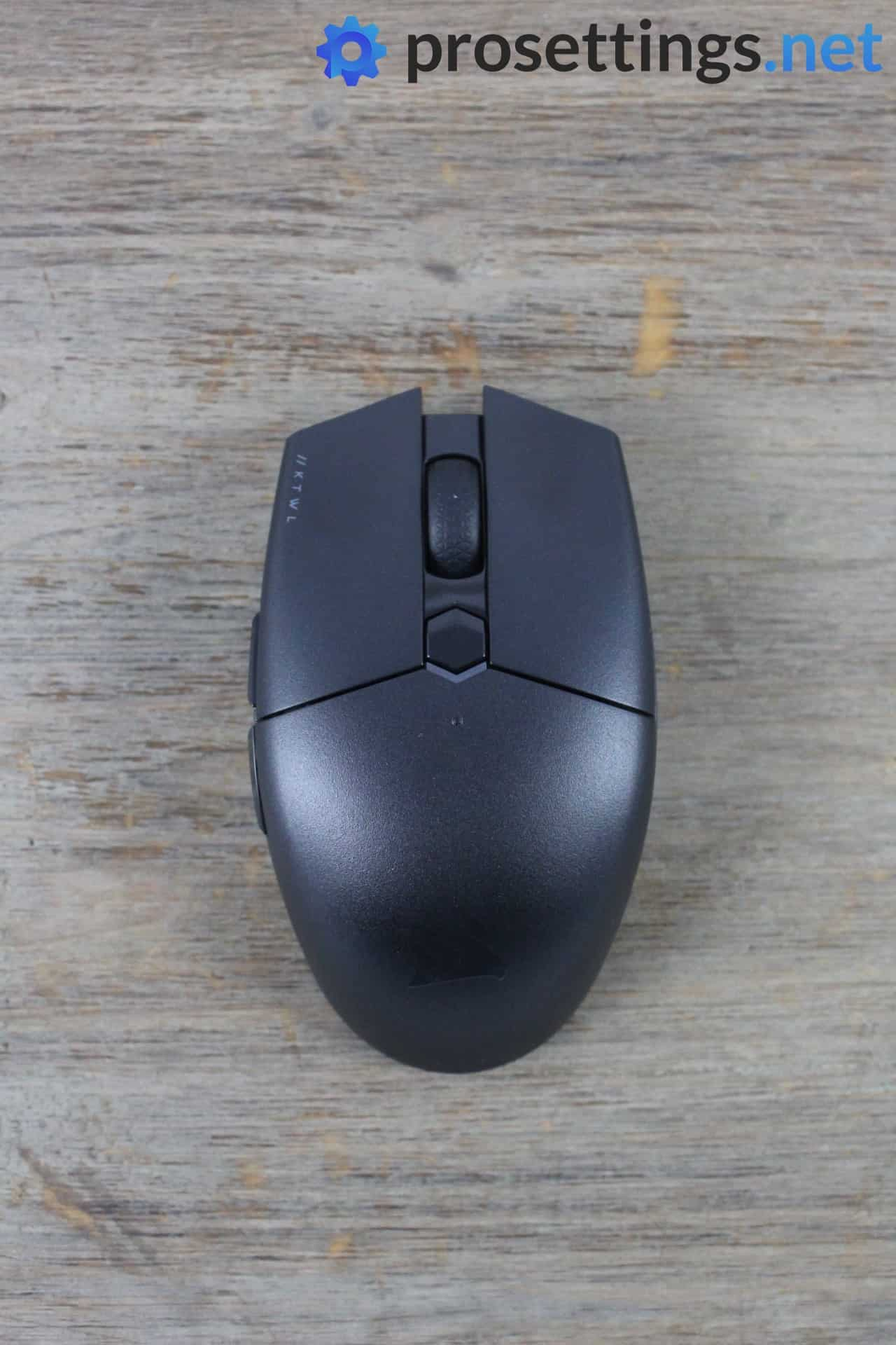 Corsair Katar Pro Wireless Review Topview