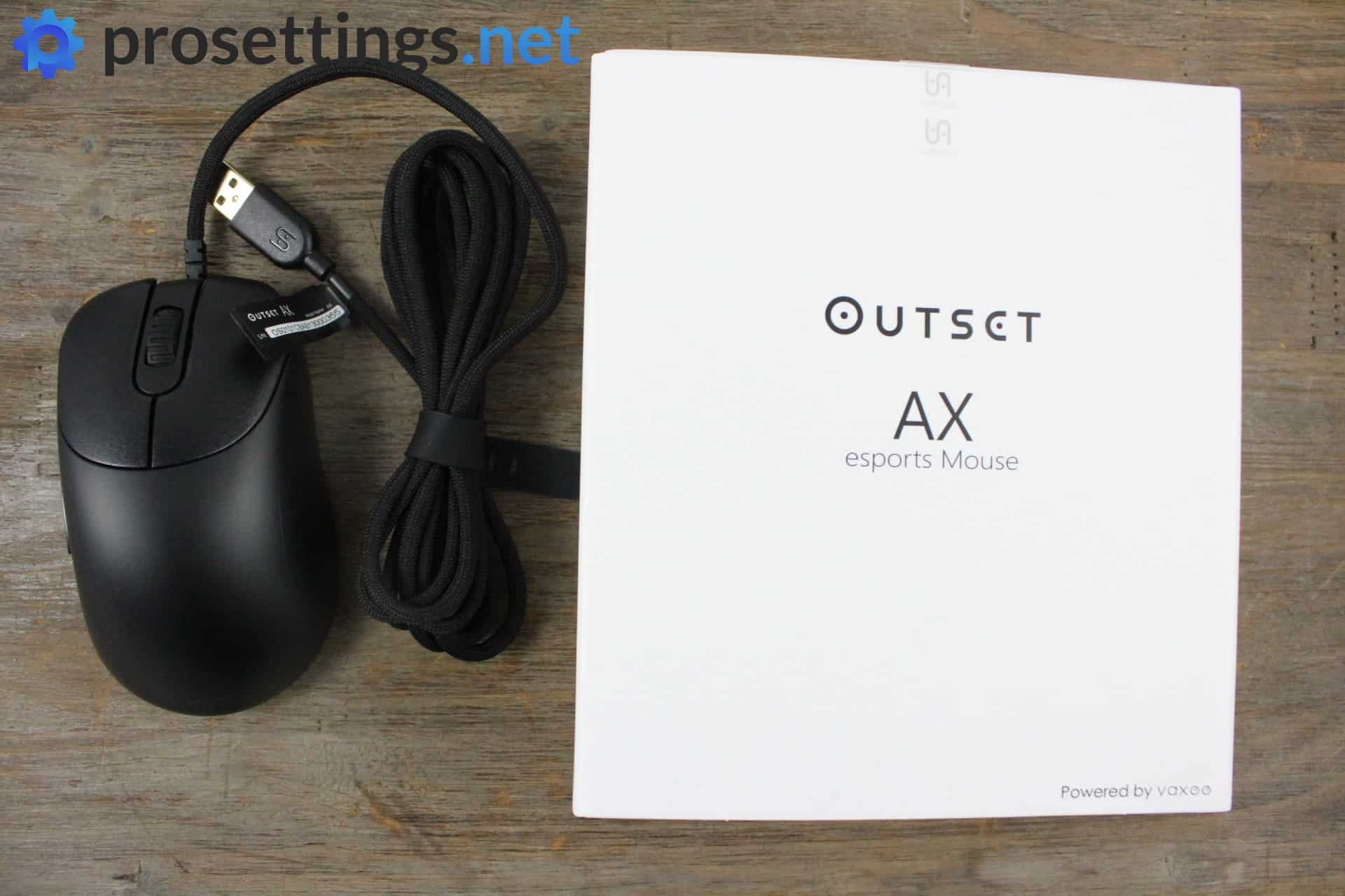 Vaxee Outset AX Review Packaging